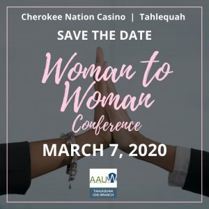 Woman to Woman Conference March 7, 2020